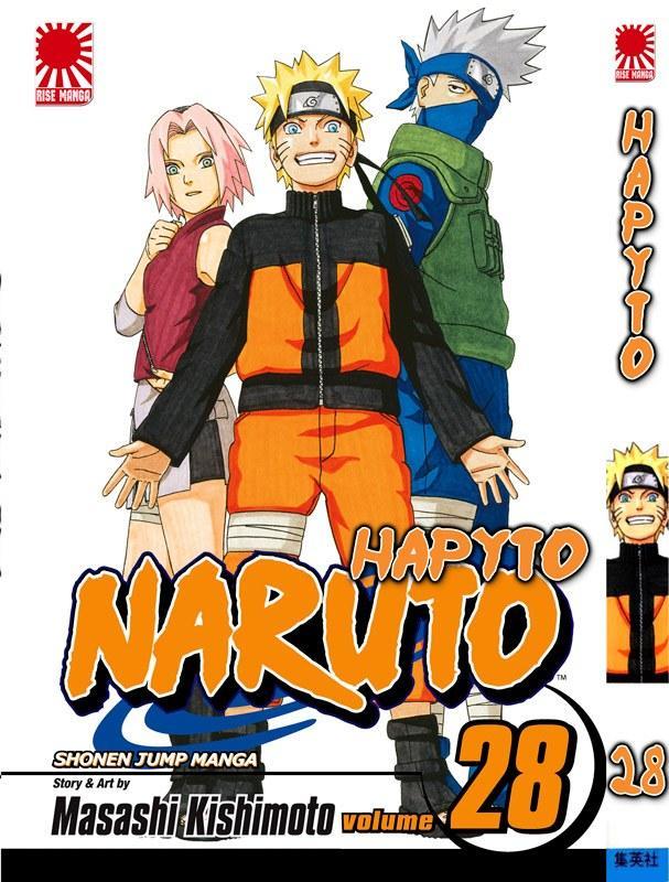 Манга Наруто Том 28