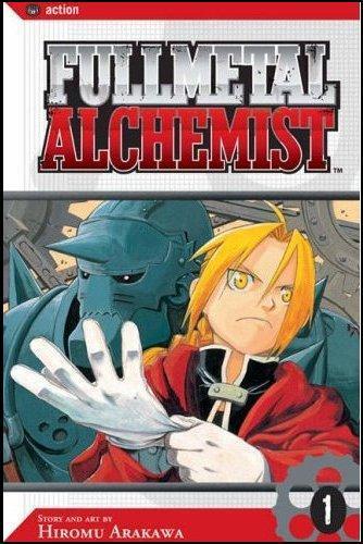 Стальной алхимик Том 1 манга читать онлайн на русском - Fullmetal Alchemist