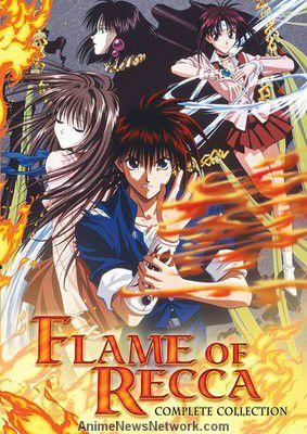 Манга Пламя Рекки читать онлайн на русском языке | Flame of Recca