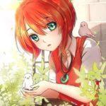 Рыжие девочки из аниме