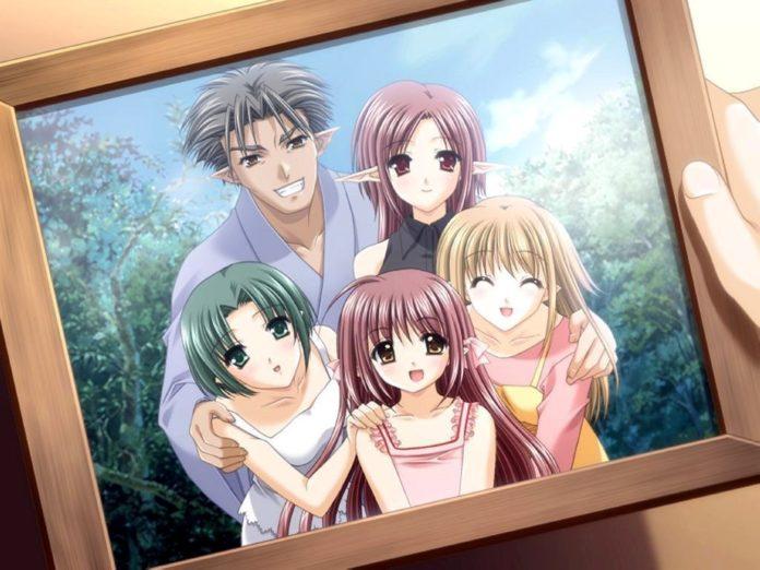 Семья из аниме